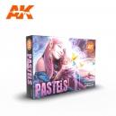 Set de couleurs pastel (PASTELS COLORS SET, 6*17mL)
