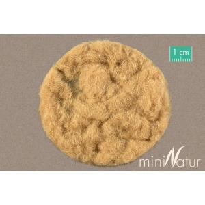 Herbe statique MOYENNE beige / paille (2mm)