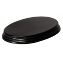 Socle Ovale 18cm Grand Modèle Noir