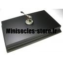 Socle Rectangulaire avec Piédestal 26.5cm Noir